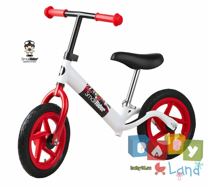 Small Rider Foot Racer Friends white-red