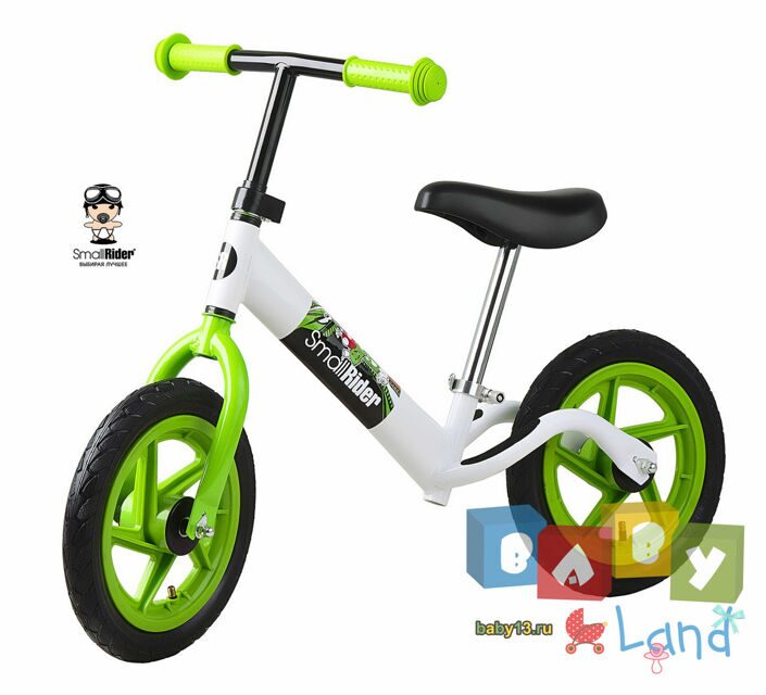Small Rider Foot Racer Friends white-green