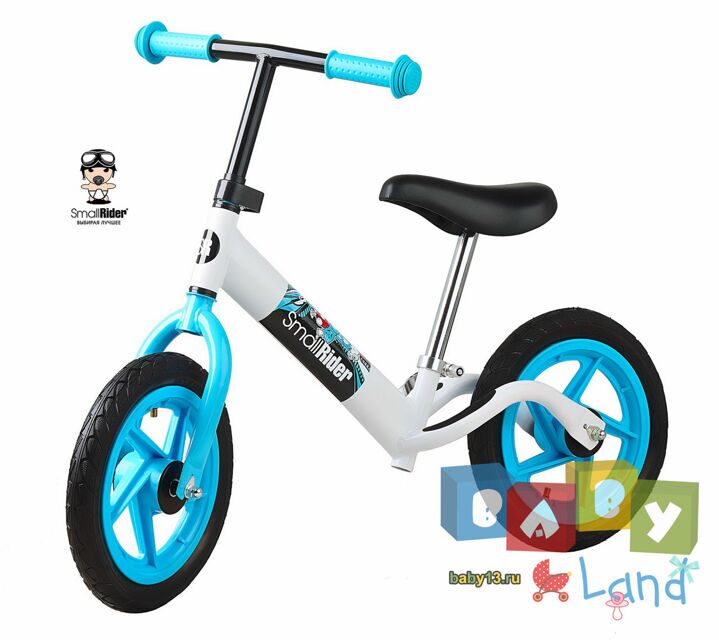 Small Rider Foot Racer Friends white-blue