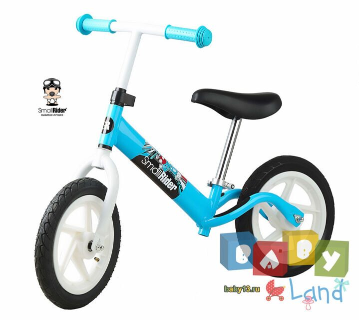 Small Rider Foot Racer Friends blue-white